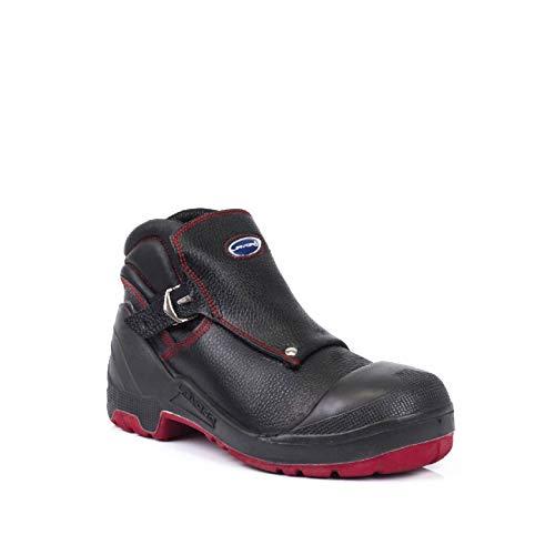 Lavoro 1023.50 - Protector para botas de soldadura de seguridad para hombre, CE, S3, HRO, SRC, color negro, talla 10,5