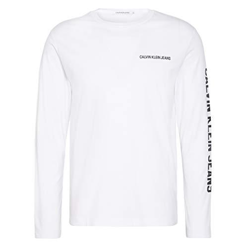 Calvin Klein T-Shirt j30j313239901, Weiß - weiß - Größe: XX-Large