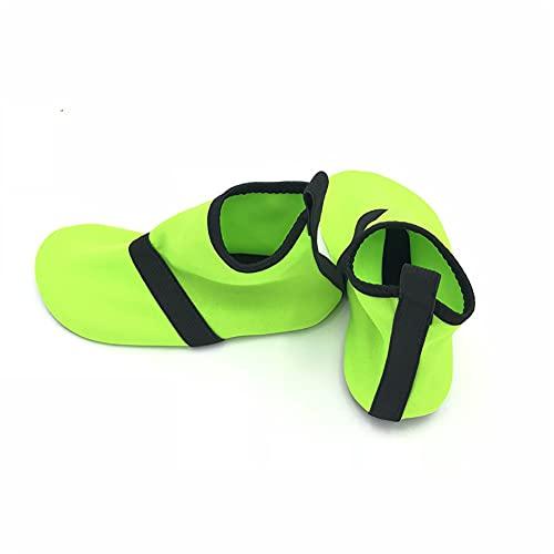 QAOSHOP Non-Slip Water Shoes for Girls and Boys, Light Soft and Comfortable Kids Beach Swimming Pool Aqua Water Socks,B,XXL