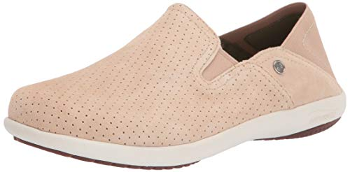 Spenco womens Convertible Slip-on Sneaker, Tan, 8.5 Wide US