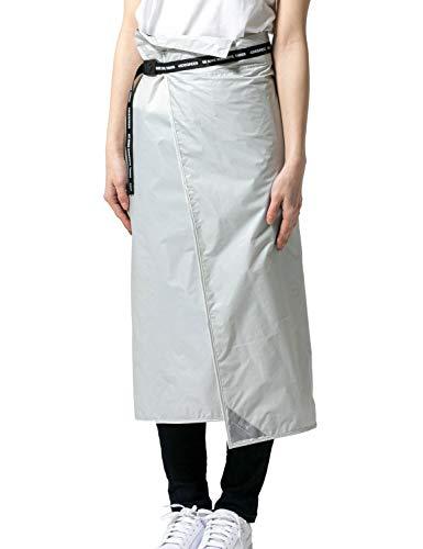 DLITE(ディライト) レインスカート 巻くレインウェア レインコート [ メンズ レディース / 全4カラー:White/フリーサイズ ] ユニセックス 雨具 防水