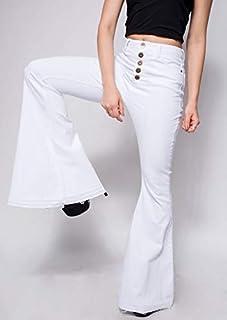 Calça Jeans Moscova Flare Paris White