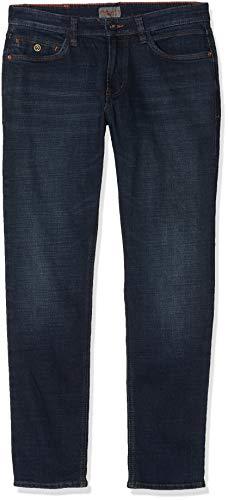 Hattric Herren Cross Denim Harris Straight Jeans, Blau (Dark Blue 48), W38/L30