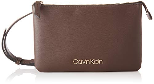 Calvin Klein Crossovers, Crossover Donna, Ardesia Marrone, One Size