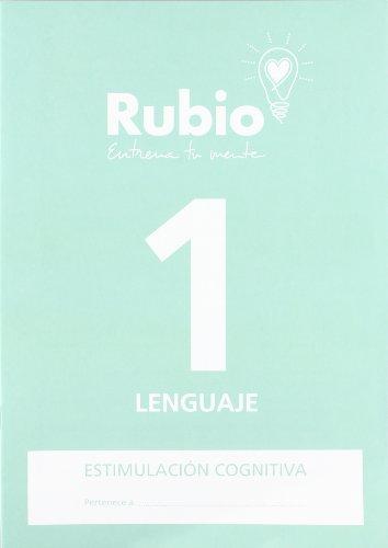 Ediciones Técnicas Rubio - Editorial Rubio 48836 Cuadernos Rubio: Lenguaje 1 (Estimulación Cognitiva (Lenguaje)) ⭐