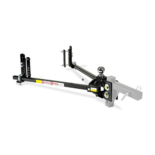 Equal-i-zer 4-point Sway Control Hitch, 90-00-1201, 12,000 Lbs Trailer Weight Rating, 1,200 Lbs Tongue Weight Rating, Weight Distribution Kit DOES NOT Include Hitch Shank, Ball NOT Included