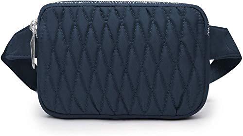 DFD Waist Pack Small Bumbag Waist Bag Travel Belt Bag Holiday Fanny Pack Walking Chest Bag, Bleu