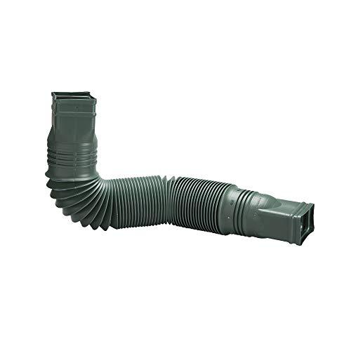 Flex-Drain 85011 Downspout Extension, Green