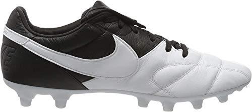 Nike Unisex-Erwachsene The Premier Ii Fg Fußballschuhe, Weiß (White/White/Black 110), 42.5 EU