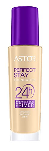 Astor Perfect Stay 24h Make Up plus Perfect Skin Primer, 102 Golden Beige, 1er Pack (1 x 30 ml)