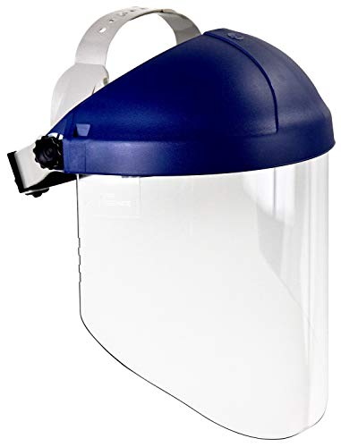 3M Ratchet Headgear H8A, 82782-00000, with 3M Clear Propionate Faceshield W96