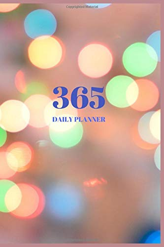 365 Daily Planner: 2020 Calendar Project Soft Cover Blank To Do List Pocket Organizer Weekly Monthly Journal Agenda Planning Book Size 6 X 9 January ... School Boys , Girls , Womens , Mens Vol.5
