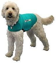 Thundershirt Dog Jacket for Anxiety, Green