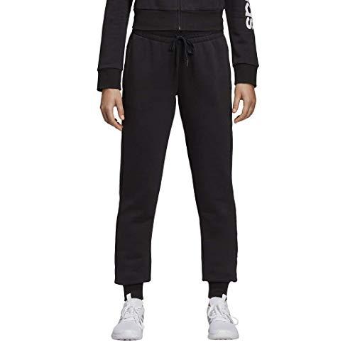 adidas Essentials Linear Fleece Pantalones, Negro, XXL para Hombre