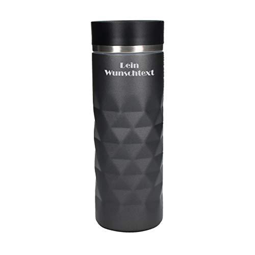 Personalisierter Edelstahl Thermobecher 450ml