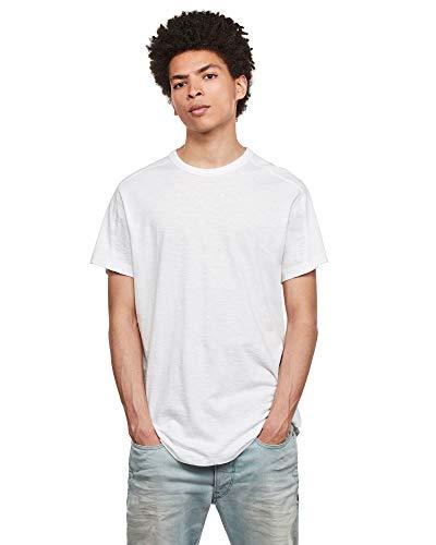 G-STAR RAW Mens Baseball Straight T-Shirt, White C372-110, XX-Large