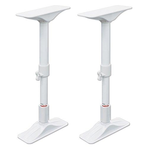 平安伸銅工業 家具転倒防止突っ張り棒 ホワイト 取付高さ35~50cm REQ-35