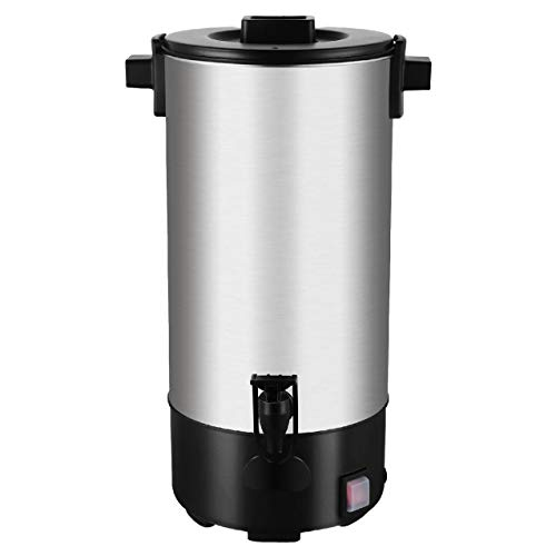 Bacchus Equipements Percolateur à Café 4 Litres/35 Tasses INOX