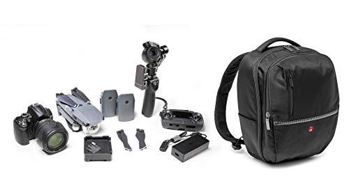 Manfrotto MB MA-BP-GPM Gearpack Zaino Medio per Reflex ed Obbiettivi, Nero/Antracite