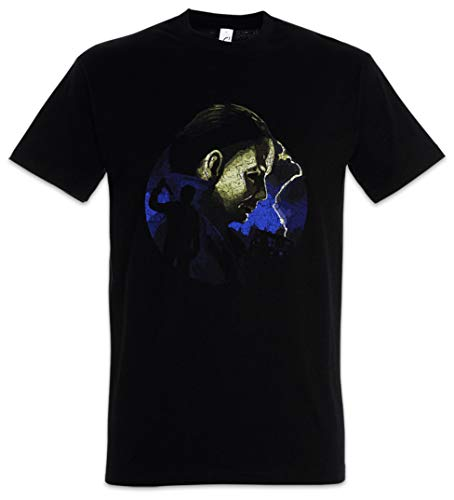 Urban Backwoods Myers Lightning Herren T-Shirt Schwarz Größe 3XL