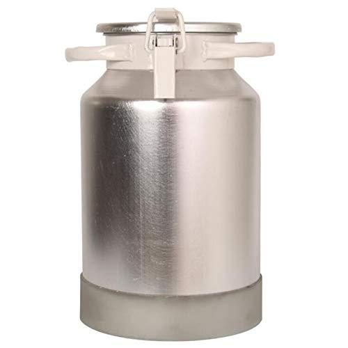 DHYSAUY Comercial/Hogar Cubo de la Leche de aleación de Aluminio Sellado de la Hebilla del Barril de Vino de arroz Té Tanque Barril 3L a 50L de Gran Capacidad Perfectamente for el Transporte