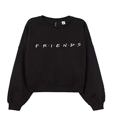 Suéter de Manga Larga Europea y Americana Popular