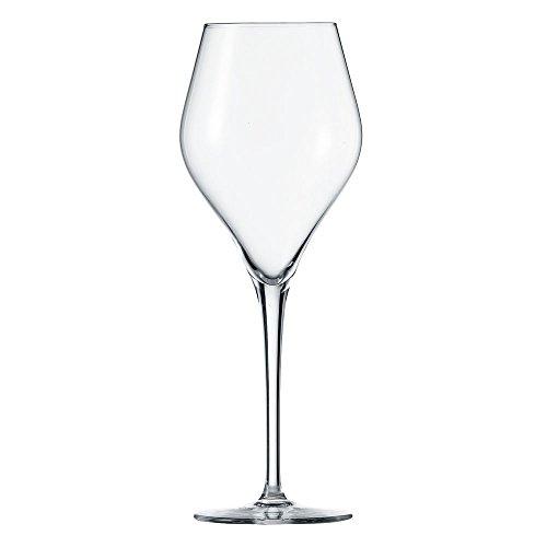 Schott Zwiesel Finesse 6-teiliges Chardonnay Weißweinglas Set Wijnglas, Kristalglas met Tritan beschermlaag, Transparente, 8.5 cm, 6