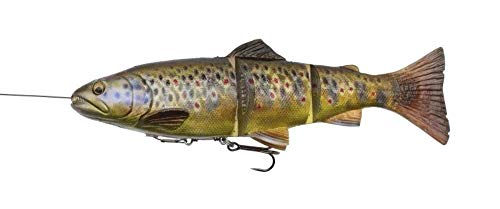 Savage Gear 4D Line Thru Trout 20cm / 98g / moderat sinkend arbe:Dark Brown Rainbow