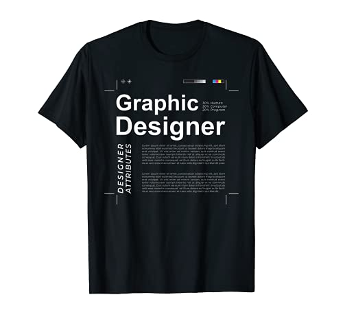 Grafikdesigner Kommunikationsdesign Mediendesign T-Shirt