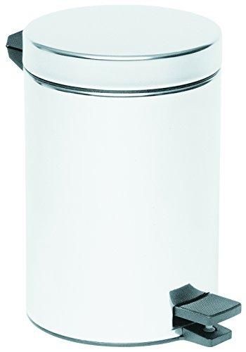 Vitra ARKITEKT Abfalleimer, 12 Liter, Chrom