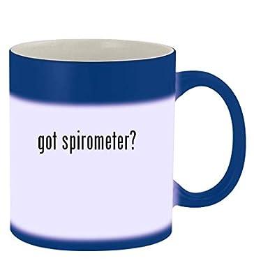 got spirometer? - 11oz Magic Color Changing Mug, Blue
