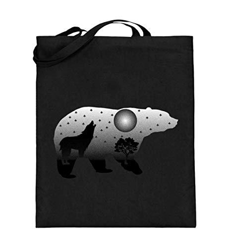 Chorchester voor beren en wolf fans - jute zak (met lange handvatten)