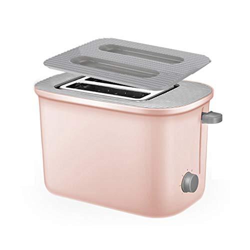 Toaster Grille-Pain Compact À 2 Fentes À Fente Large 7 Réglages de Pain Grillé avec Plateau Ramasse-miettes Amovible 680 W Décongélation Réchauffage Annuler