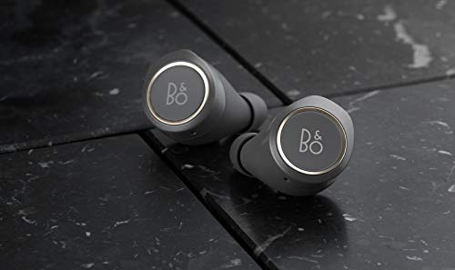 B&O Play 1644126 E8 Bluetooth in-Ear Headphones with Mic (Charcoal Sand)