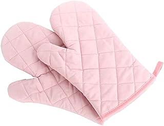 Voarge Rękawice do piekarnika, odporne na wysokie temperatury, 1 para (różowe)