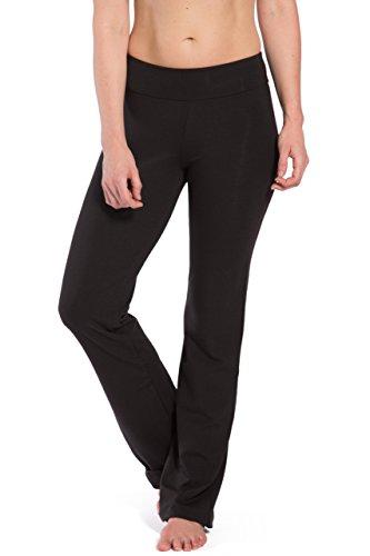 Fishers Finery Women's Eco-fabric Classic Bootleg Yoga Pant