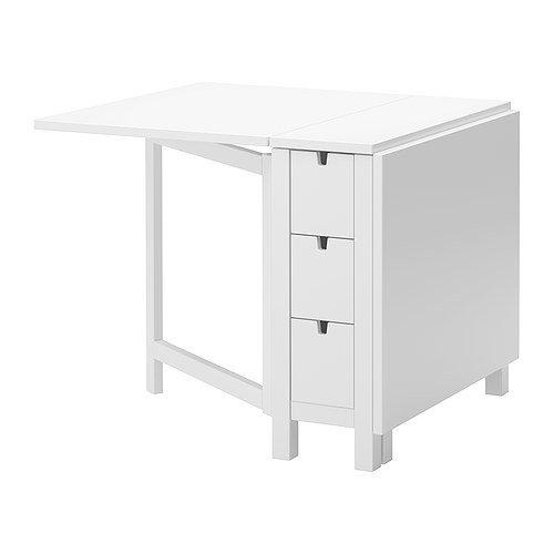 IKEA Gateleg Tisch, weiß 1626.2928.1014