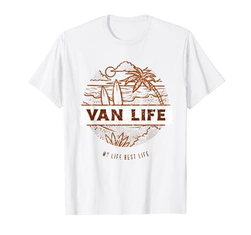 Van Life Clothing Retro Vintage Van Dwellers Vanlife Nomads T-Shirt