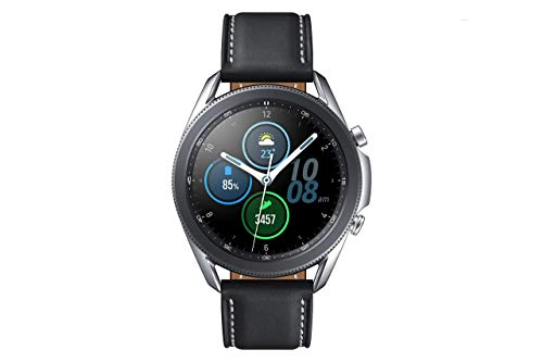 SAMSUNG Galaxy Watch 3 (Bluetooth) 45mm - Smartwatch Mystic Silver