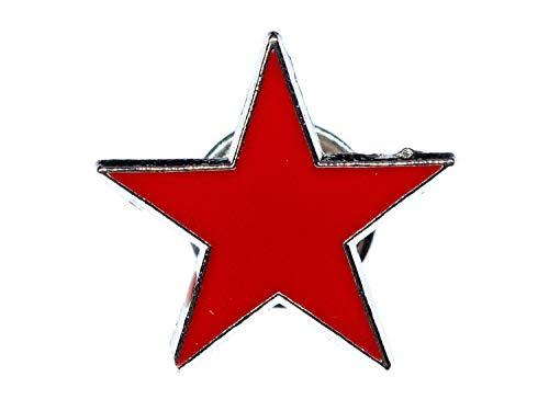 Miniblings Broche de estrella esmaltada Che Cuba rojo – Hecho a mano I Pin Pin Pin Pin Pin Pin