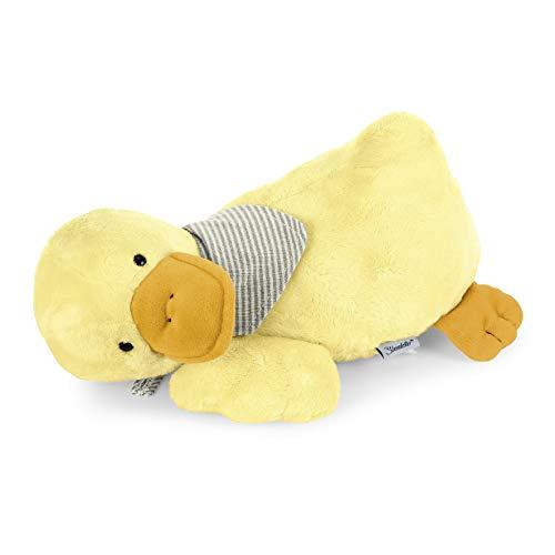 Sterntaler Schlaf-gut Figur Ente Edda mit integriertem Herztonmodul, Alter: Für Babys ab der Geburt, 28 cm, Gelb