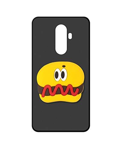 Sunrive Kompatibel mit DOOGEE BL12000 Hülle Silikon, Ständer Fingerhalter Fingerhalterung Handyhülle matt Schutzhülle Etui Hülle (Hot Dog) MEHRWEG