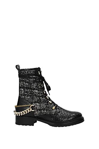 Lanvin, Damen Stiefel & Stiefeletten, Schwarz - Schwarz - Größe: 40 EU