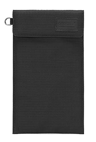 Pacsafe Men's RFIDsafe Silent Pocket Phone Guard, Jet Black, One Size