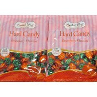 Coastal Bay Confections Strawberry Flavored Fat Free Hard Candy 20 Oz. (2 Pack)