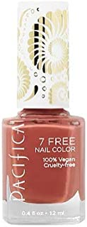Pacifica 7 Free Nail Polish Collection Desert Princess (Brown) 0.45 oz, Pack of 1