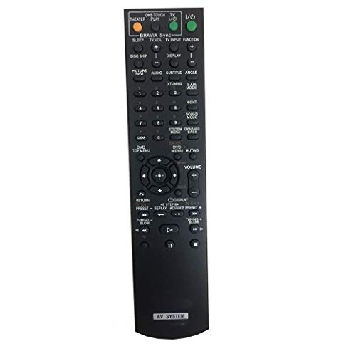 New 4EVER Remote Control Compatible for Sony DAV-HDX285 DAV-DX255 DAV-DX315 DVD Home Theater System