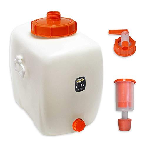 Speidel Getränkefass Oval 100 Liter mit Auslaufhahn NW15 incl. Gärspund