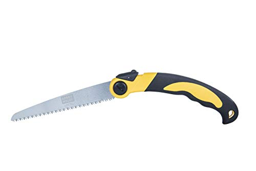 GREEN MOUNT Folding Hand Pruning Saws 9 inch for Tree Branch Cutter, Camping Saw Cutting Wood