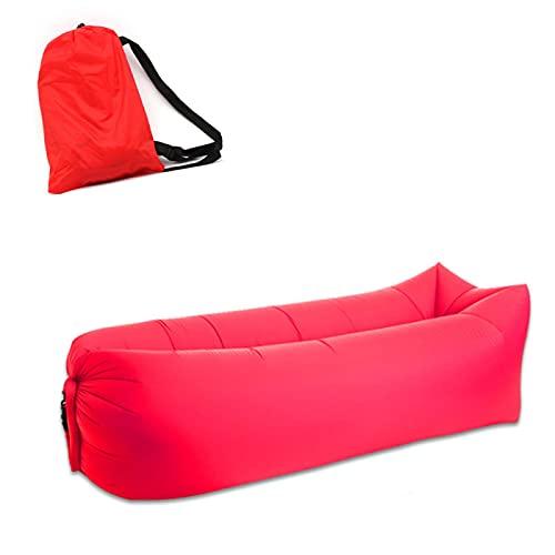 Sofá De Aire Portátil Sillón De Playa Saco De Dormir Plegable Rápido para Acampar Bolsa De Sofá Inflable Impermeable Bolsa De Dormir para Acampar Perezosa Cama De Aire Bred